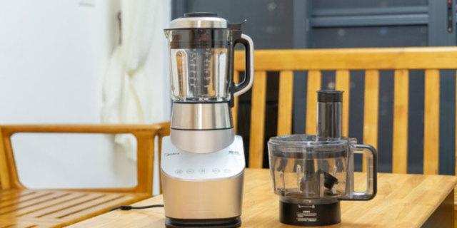 厨房小白也能轻松驾驭,分分钟变身料理师,美的变频静音破壁机体验