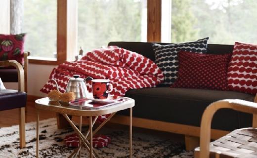 看腻了性冷淡风?世界级Marimekko推2017冬季家居