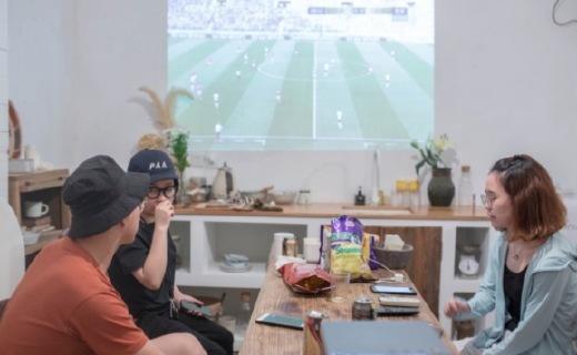 世界杯观赛终极利器,在家也能享受百吋高清巨幕