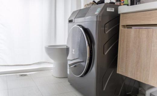 雨季晾衣不用愁,云米洗烘一体互联网洗衣机评测