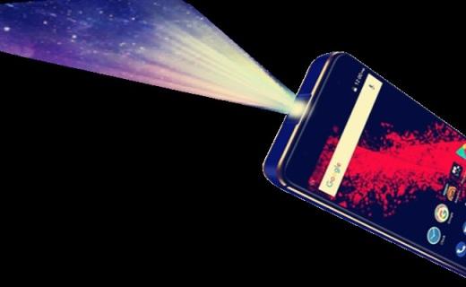 手机也能投影了!720P高清+最远5.1米投射距离