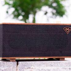 复古优雅家居风,音质保真耐品味,杰士The Three无线音箱体验
