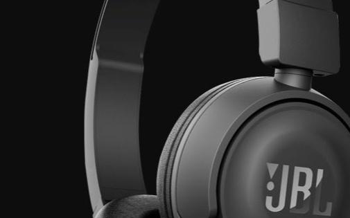 JBLT450BT头戴式耳机:折叠机身轻盈紧凑,三频衔接音色扎实