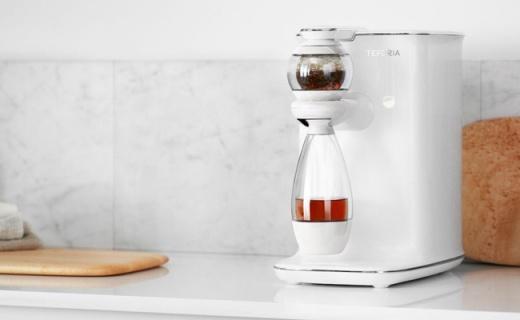 能识别茶叶种类的智能泡茶机,完全释放茶叶香气