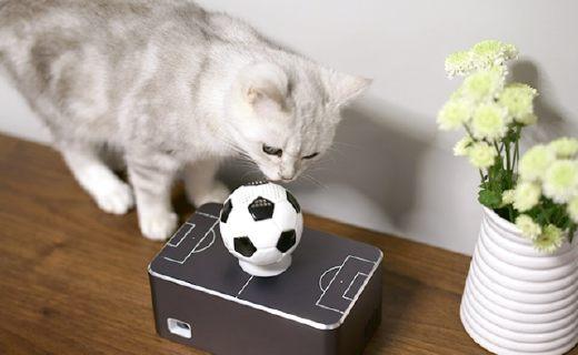 世界首台悬浮式智能投影仪,听歌、追剧还能逗猫