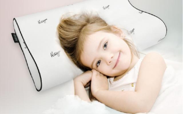 呵护孩子的颈椎,绮眠宝贝塔拉蕾儿童乳胶枕