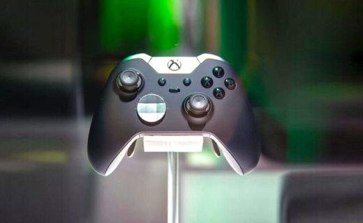 微软Xbox Elite手柄:自定义按键畅玩游戏,类肤材质手感舒适