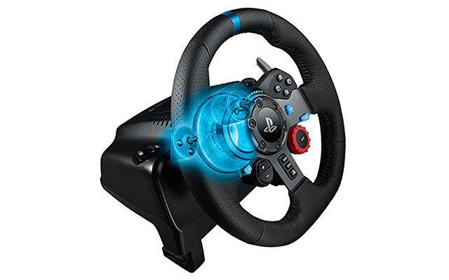 罗技(Logitech)G29游戏方向盘+踏板套装