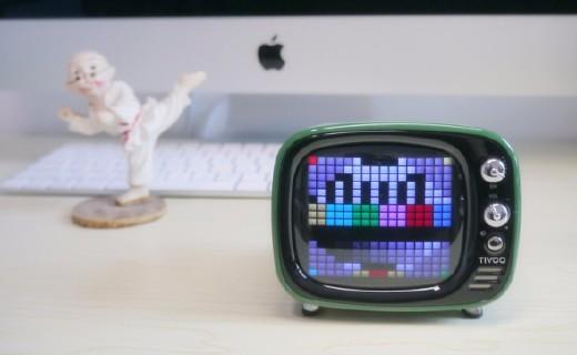 终极撩妹大法器!是蓝牙音箱更是迷你游戏机 — Divoom Tivoo像素蓝牙音箱体验