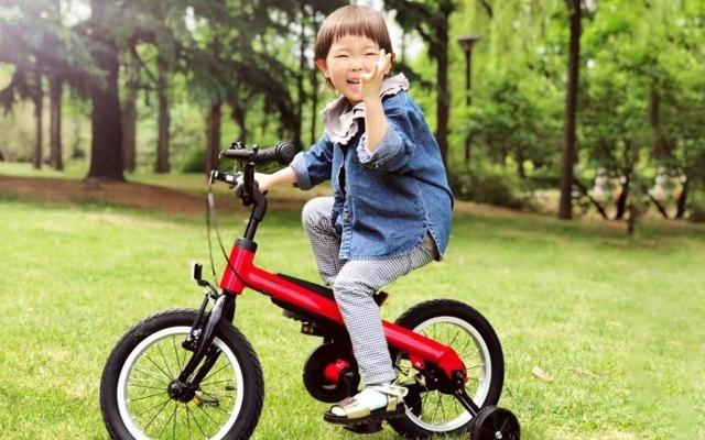 ninebot儿童自行车评测,简单易上手,孩子童年好伙伴