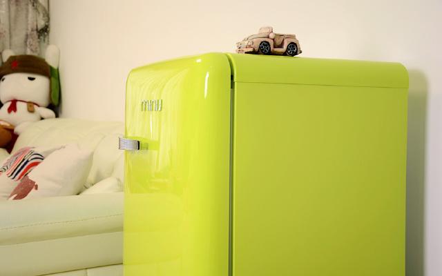 复古是一种潮流,小吉这款冰箱简直人见人爱