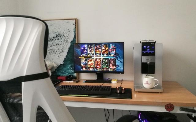换掉桌面的主机,换上这个更好用还好喝:碧云泉净水机