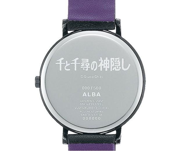 动漫联动,汉字时显!日本老厂推出《千与千寻》主题手表