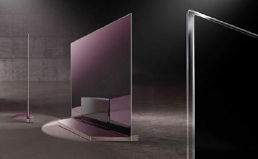 2.57mm!LG新电视薄成一片纸,画质也是个极品