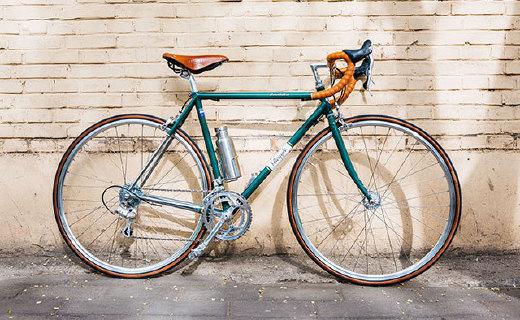 自己设计组装一辆复古单车,是我干过最酷的事