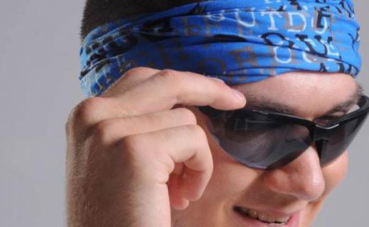 伯希和运动头巾:银盐粒子杀菌,轻薄柔软透气好