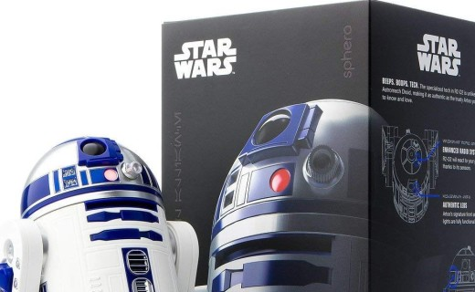 Sphero R2-D2机器人:高还原星战R2-D2机器人,智能互动趣味十足