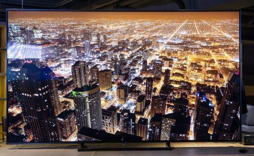 像极了壁画!三星电视Q9F体验:超窄边框,画质惊艳