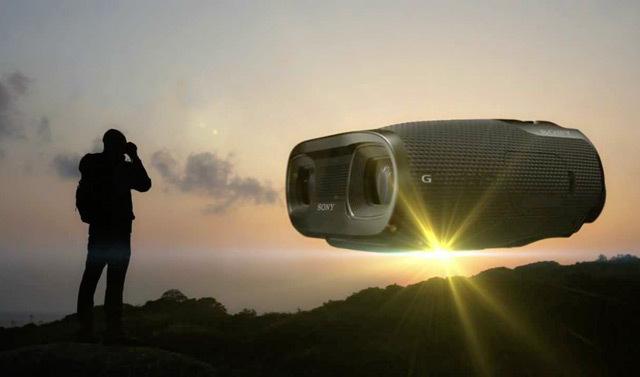 所见即所得,3D摄录望远镜-索尼 DEV-50