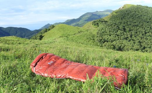 轻量化鹅绒睡袋,让你野营睡得舒适温暖!