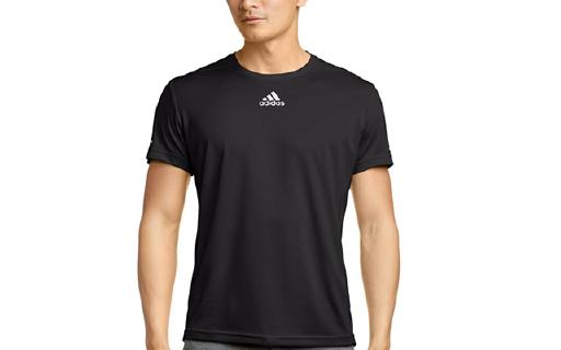 Adidas男士跑步基础款T恤,速干吸汗,亚马逊历史新低