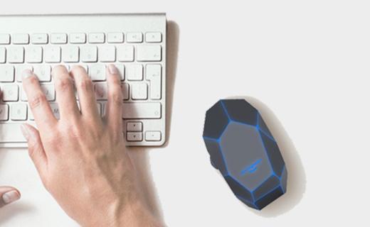 Xoopar无线鼠标:创新几何界面设计,精准追踪手感舒适