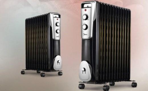 美的NY2513电暖器:防倾倒断电设计,智能恒温持久舒适