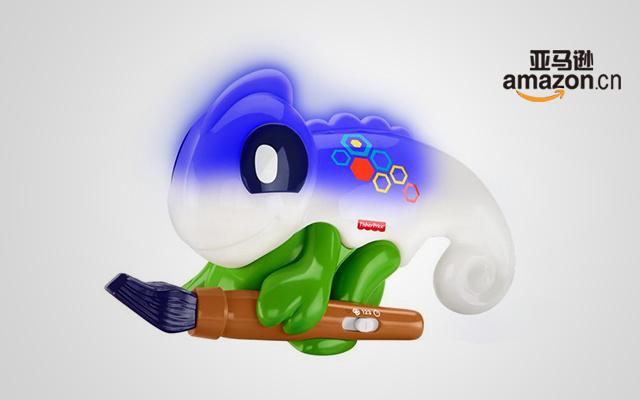 Fisher Price 费雪变色龙玩具