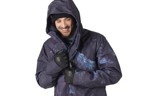 伯顿Gore-Tex® Radial雪服:印花Gore-Tex面料,三层透气系统