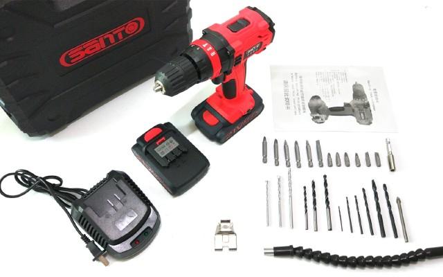 精致耐用,家庭DIY好幫手——賽拓21V鋰電沖擊鉆套裝開箱