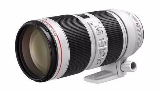 佳能发两款新镜头:新恒定光圈+EF 70-200mm中远摄变焦镜头