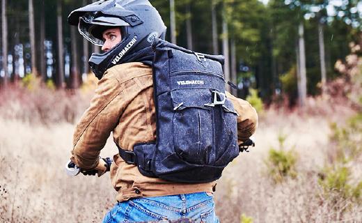 怎么甩都不会掉的骑行背包,还能当水壶用!