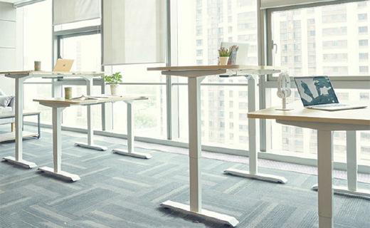 9-A-M PESK办公桌:四档高度记忆随意升降,从此远离腰椎颈椎病