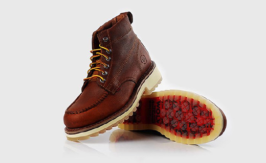 wolverine时装靴:全鞋身牛皮手工打造,牛筋发泡双层鞋底