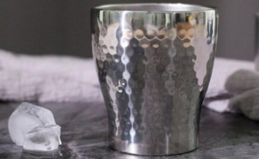 京造不锈钢保温杯:双层抽真空保温保冷,简约日式风格