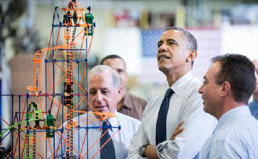 比乐高还要火的美国积木,奥巴马都在买!