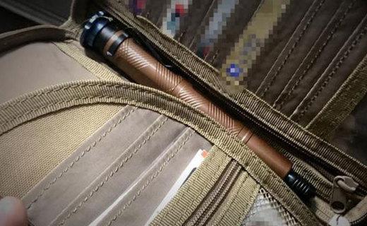 可以收在钱包里的护身利器,弘安Paul锋芒轻机械棍测评