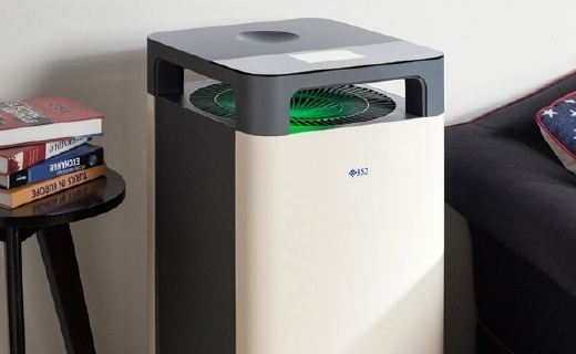 352 X83家用空气净化器:更低噪音更强悍净化能力,享受健康空气