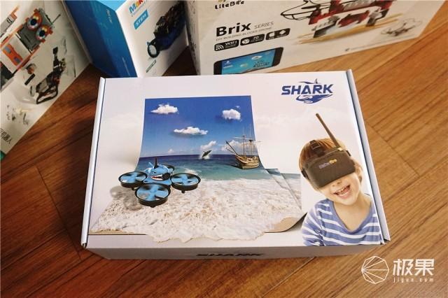 Shark穿越机上手评测:小孩子的启蒙无人机