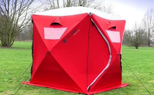 2分钟就能搭好的模块化帐篷,野外也能住大套间