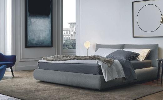joooi布艺双人床:多色选择可拆洗,温馨舒适可储物