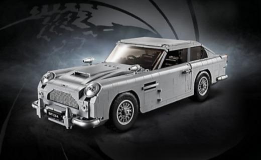 樂高又出新玩具:007同款座駕,這還原度真神了
