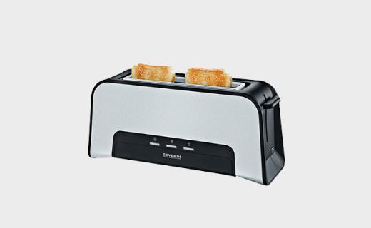 Severin AT2260吐司机:七档烘烤随心调节,双面烘焙更均匀