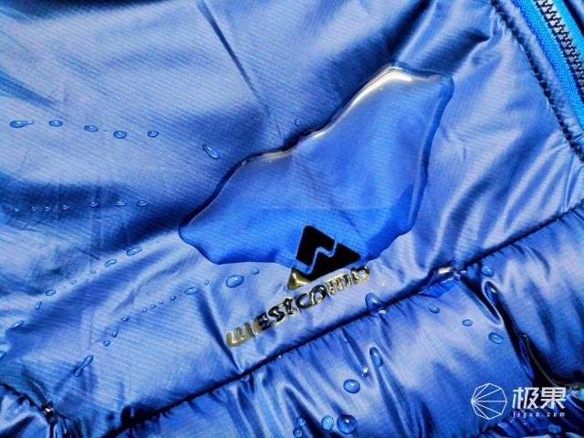 无懈可击的保暖效果--WESTCOMBALTA高端鹅绒外套