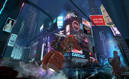 思想爆炸年轻人勾勒未来城市,画板竟如此天马行空!
