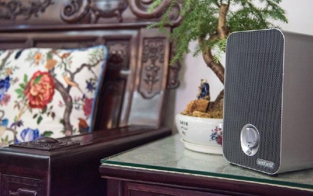 桌面音箱大小的净化器,低耗高能用过都说好   视频