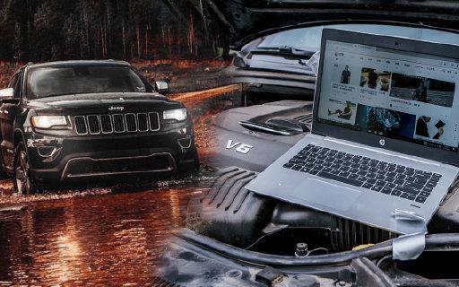 百万Jeep车狂虐笔记本!10小时高温车震暴力测试都不怕