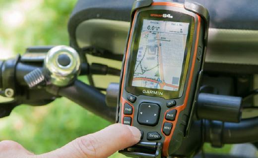 佳明旗舰户外手持GPS,四天线强信号迷路也不怕