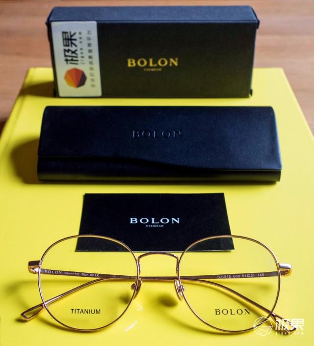 暴龙(BOLON)圆形光学太阳镜