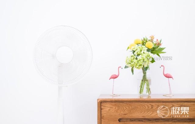 颜值高超静音自然风,网易智造变频直流风扇体验